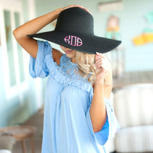Load image into Gallery viewer, FLOPPY HAT WITH MONOGRAMMING - alliemdesignsboutique
