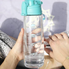 Load image into Gallery viewer, Daily Intake Fun Water Bottle - alliemdesignsboutique