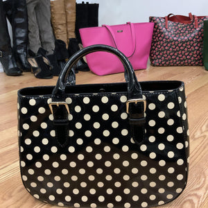 kate spade polka dot handbag - alliemdesignsboutique