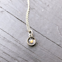 Load image into Gallery viewer, Mustard Seed Necklace Round Silver Small - Silver - alliemdesignsboutique