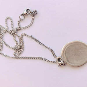 Wax Seal Charm Necklace - alliemdesignsboutique