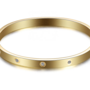 Preorder Kim CZ Bangle Bracelet - alliemdesignsboutique