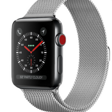 Load image into Gallery viewer, Stainless Steel iWatch Band - alliemdesignsboutique