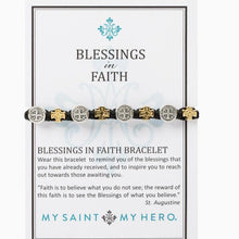 Load image into Gallery viewer, Blessings in Faith Bracelet - alliemdesignsboutique