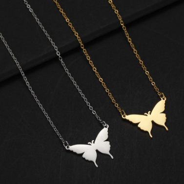 Preorder Blanca Butterfly Necklace - alliemdesignsboutique