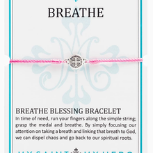 Load image into Gallery viewer, Breathe Blessing Bracelet - alliemdesignsboutique