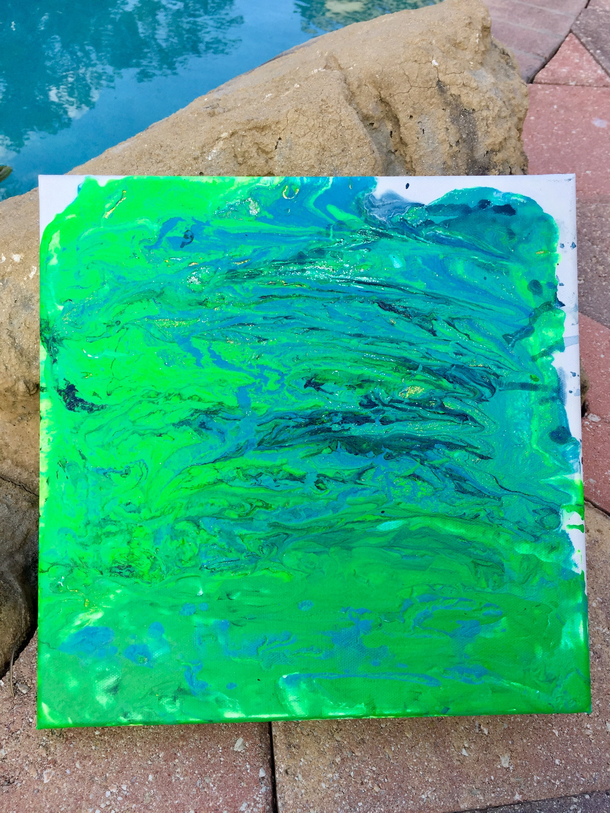 Arts & Crafts: Color Theory & Fluid Painting