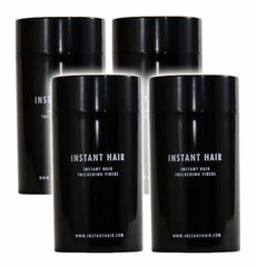 4 Pack - Instant Hair Thickening Fiber