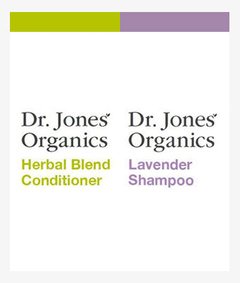 Dr. Jones Shampoo & Conditioner Package (Vegan Blend) - 8 OZ