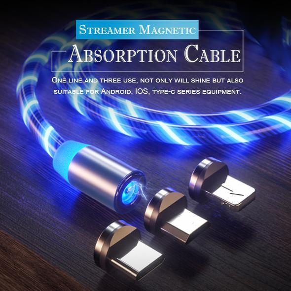 Magnetic Absorption Cable