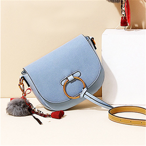 Vintage Ring Saddle Bag Fashion Crossbody Bag