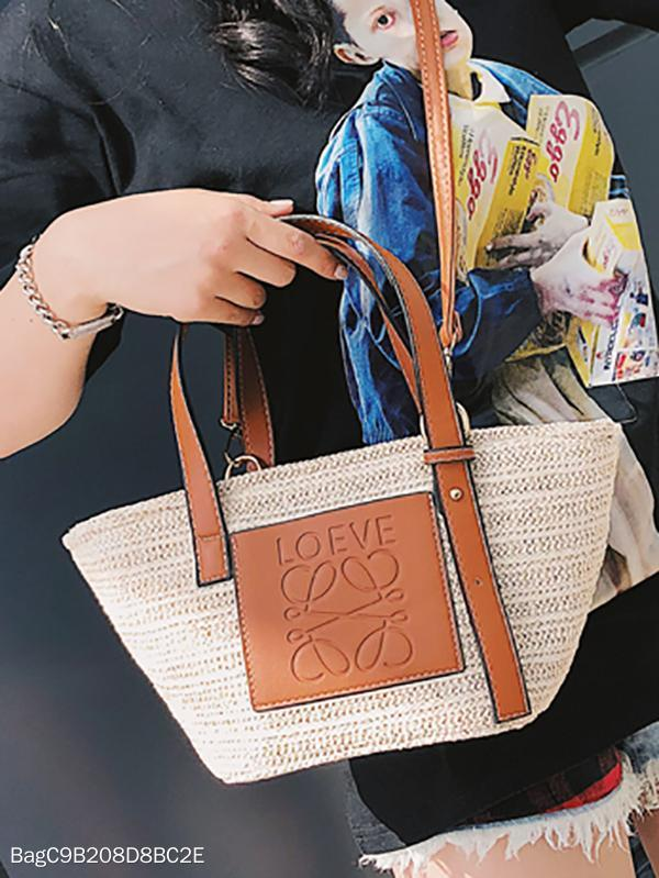 Must Have Vacation Fashion Straw Bag