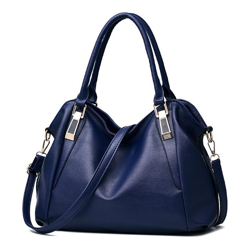 Stylish Pebbled Pattern Versatile Diagonal Handbag