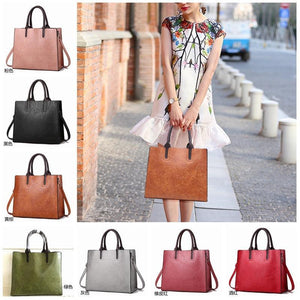 New Woman Bag Simple Retro Handbag