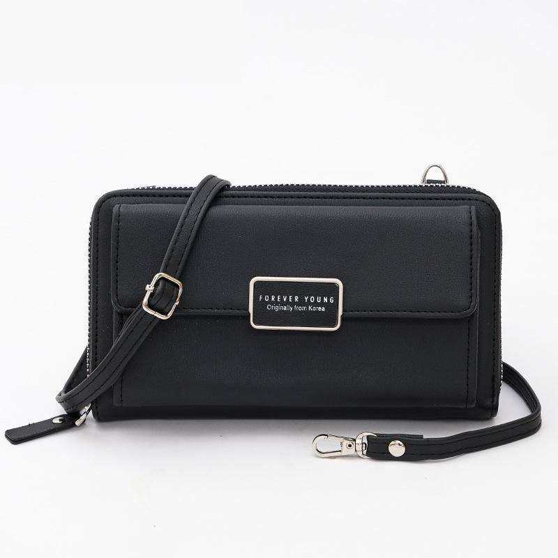 Zipper Handbag Large-Capacity Chain Bag Multi-Card Wallet