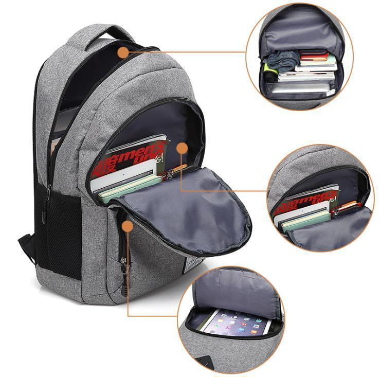 Men's large capacity travel casual backpack