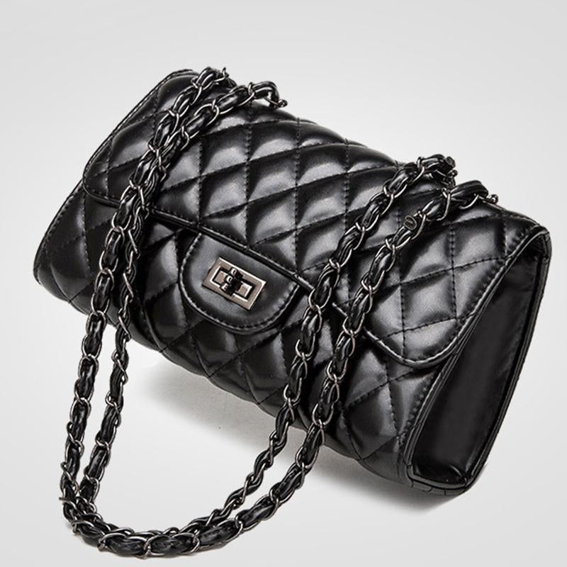 New Fashion Small Fragrance Rhombic Chain Hand Bag Shoulder Bag Messenger Bag