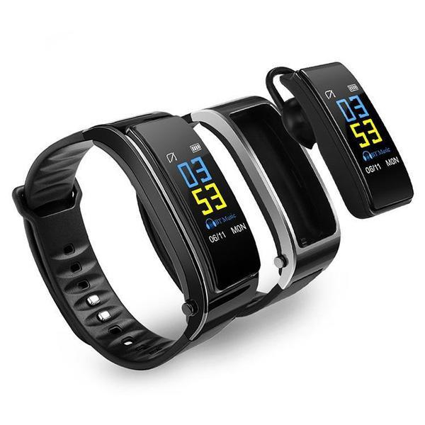 【Limit discounts 60%Off】2 in 1 Smart Watch With Bluetooth Earphones-Multifunction