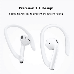 Ergonomic Design Anti-Lost Durable AirPods EarHooks(Buy 1 send 1)