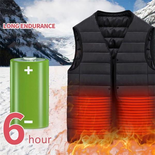 (Christmas Promotion-50% OFF)Unisex Warming Heated Vest-Best Xmas Gift