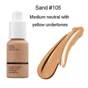Flawless Matte Liquid Foundation