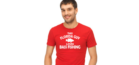 florida bass fishing t-shirt