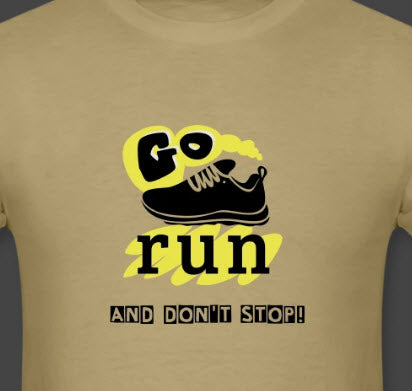 go run t-shirt