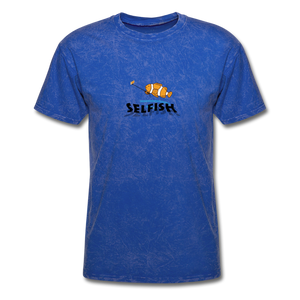 Clown fish selfie T-Shirt - mineral royal
