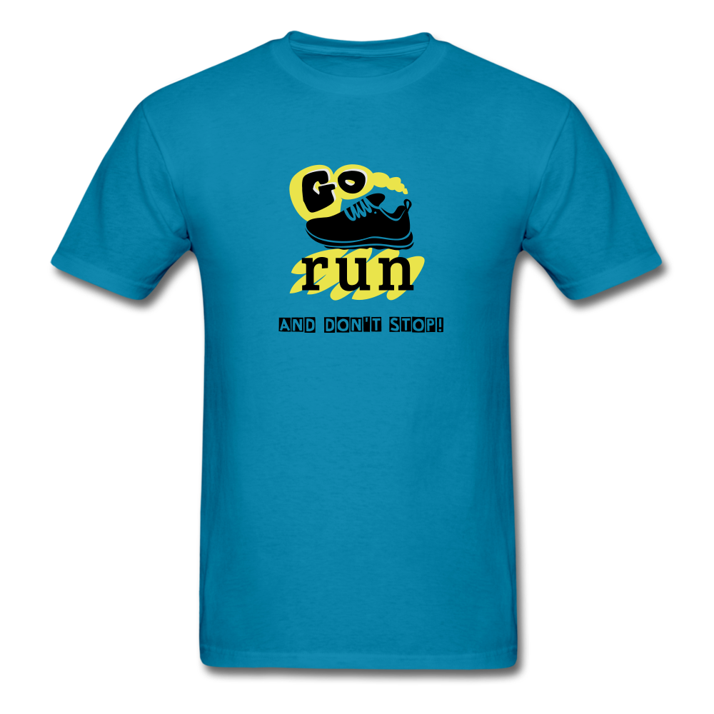 Go Run And Don't Stop! - turquoise