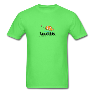 Clown fish selfie T-Shirt - kiwi