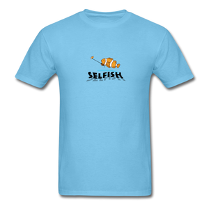 Clown fish selfie T-Shirt - aquatic blue