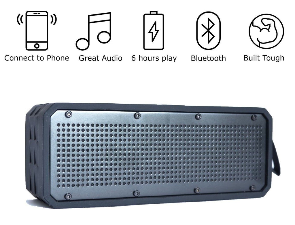 Waterproof Adventurer Bluetooth Speaker