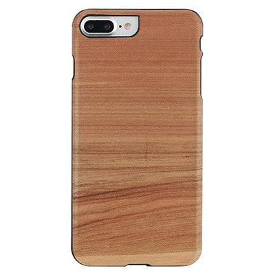 Man & Wood Real Wood Case Cappuccino