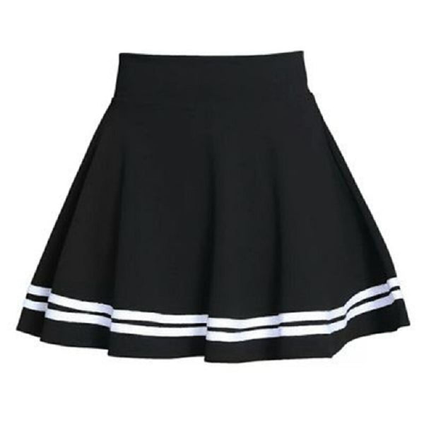 Double Striped Mini Skirt