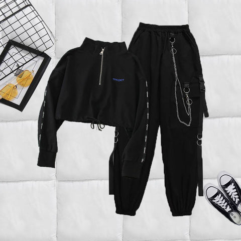 Two Piece Sets Jacket & Joggers