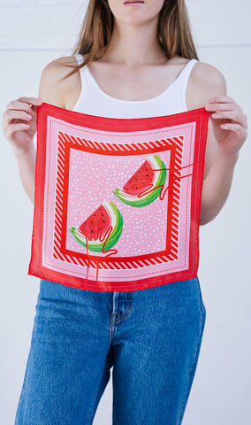 Mini Watermelon Silk - Year Round