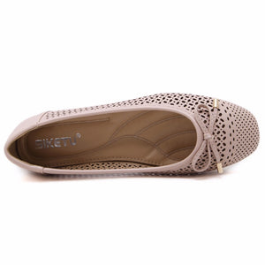 Casual Flat Shoes Square Toe Ballet Flats Slip On - SaltyandCozy