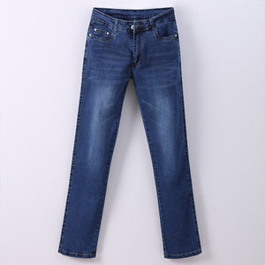 Women Jean Slim Pantalona  Straight High Waist Ladies Jeans