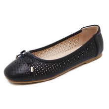 Load image into Gallery viewer, Casual Flat Shoes Square Toe Ballet Flats Slip On - SaltyandCozy