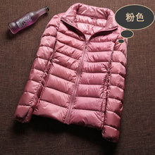 Load image into Gallery viewer, Ultra Light 90% White Duck Down Jacket - SaltyandCozy