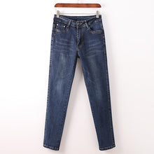 Load image into Gallery viewer, Women Jean Slim Pantalona  Straight High Waist Ladies Jeans