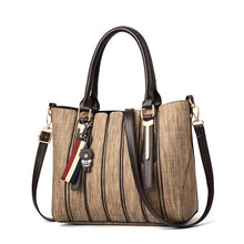 Load image into Gallery viewer, Women Tote Purse Handles and Long Straps - SaltyandCozy