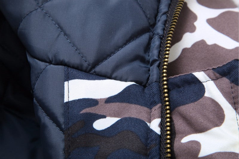 Thrive Trend™ Camo Overcoat - Thrive Trend