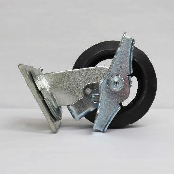 Swivel Caster with Brake: FEC Rotisserie Units: PV195