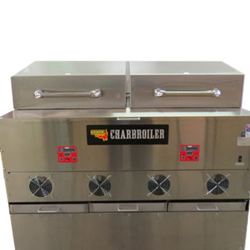 "CB149: Split Lid for the 48"" Charbroiler Model CB048"