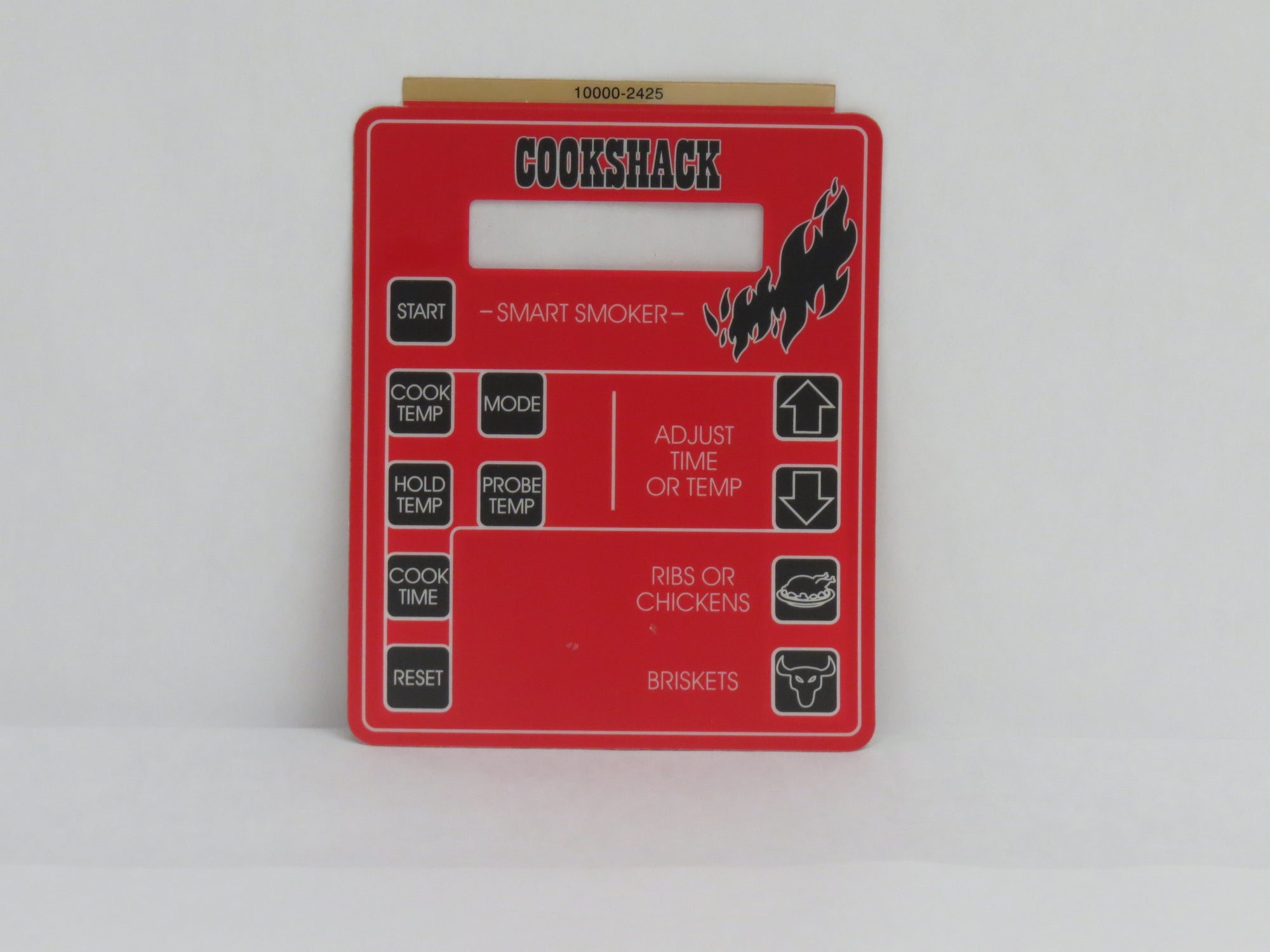 LA152: Replacement label for Cookshack IQ - IQ4 controllers