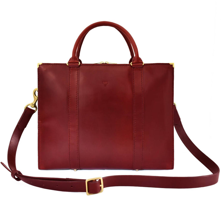 Ilmarinen Briefcase | Burgundy
