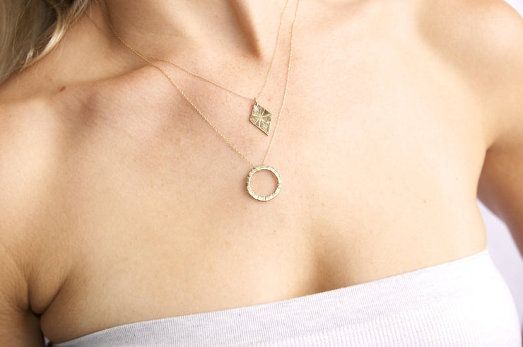 14k Gold Corinne Necklace
