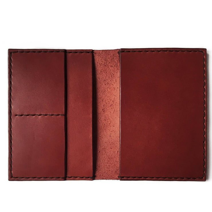 Travel Wallet | Burgundy