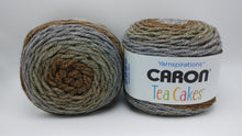Load image into Gallery viewer, ENGLISH BREAKFAST Caron TEA Cakes Yarn  - Big 8.5oz/240g - 204 yds/186m - 80/20 Acrylic/Wool - #6 Super Bulky - Grays & Browns